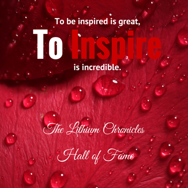 To be inspired is great, (1)