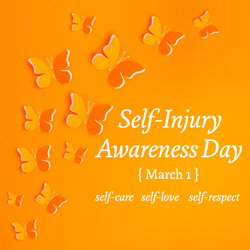 Today is Self Harm AwarenessDay